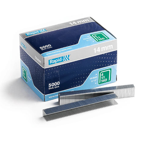 5000 pack of rapid 14mm staples