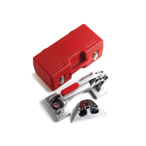 carpeting tools set with red box