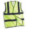 hi vis vest yellow size s-xl