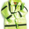 hi vis jacket yellow size s-xl