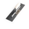screeding trowel with wooden handle